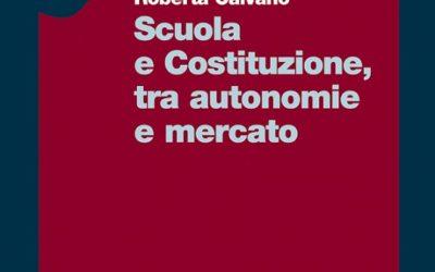 Scuola e Costituzione, tra autonomie e mercato