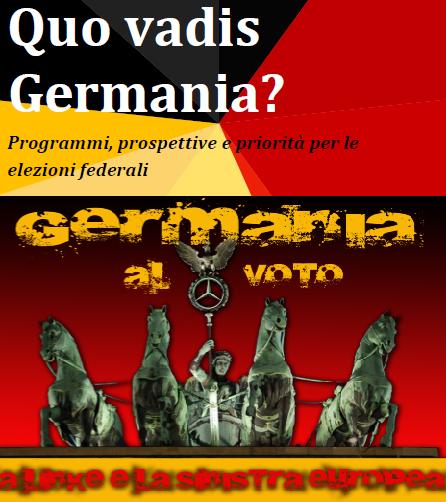 La Germania verso le urne: una giornata per approfondire
