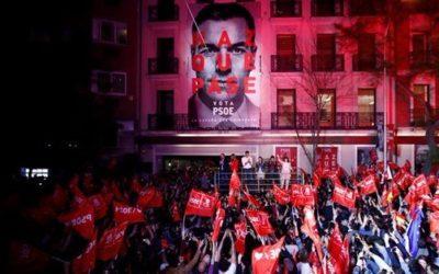 Triunfo y enfrentamiento. La Spagna del dopo elezioni